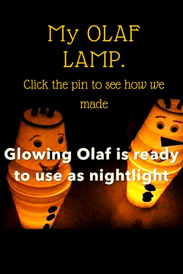 My OLAF LAMP