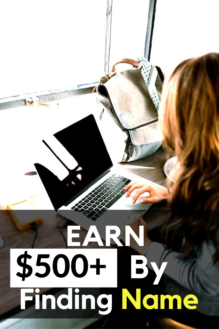 earn 500 by typing name